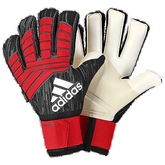 6b6cccb69 adidas Predator Pro Fingersave Goalkeeper Gloves - Black/Red