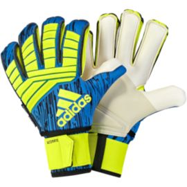 adidas Predator Ultimate Goalkeeper Gloves - Solar Yellow/Football Blue