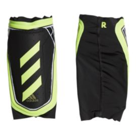 adidas X Foil Shin Guards - Black/Solar Yellow
