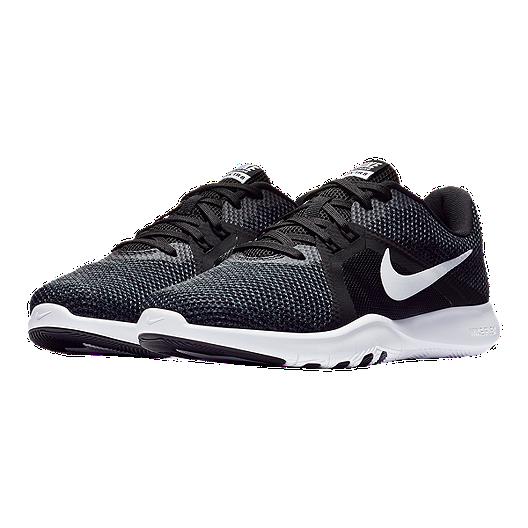 wholesale dealer 5710c e87c8 Nike Women s Flex Trainer 8 Wide Training Shoes - Black White. (1). View  Description