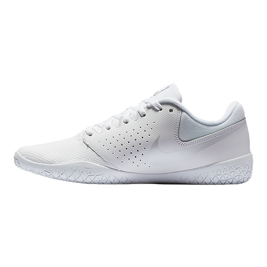 316143d143335 Nike Women s Cheer Sideline IV Training Shoes - White Pure Platinum ...