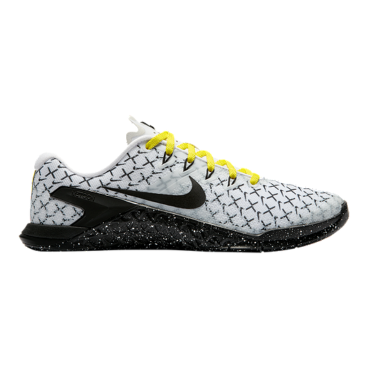 Metcon Crossfit Yellow Synthetic Uk Fitness'shoes Nike Shoes