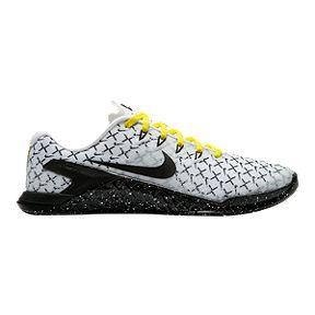 575a3ebb5be6 Nike Women s Metcon 4 AMP Training Shoes - White Black Yellow