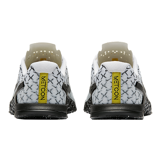545a73c2 Nike Women's Metcon 4 AMP Training Shoes - White/Black/Yellow