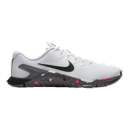 a8f97c62f127 Nike Women s Metcon 4 JDI Training Shoes - White Black Gunsmoke Pink ...