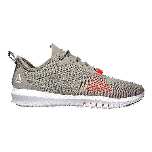 143653035e Reebok Women's Flexagon TR Training Shoes - Whisper Grey/Red | Sport Chek