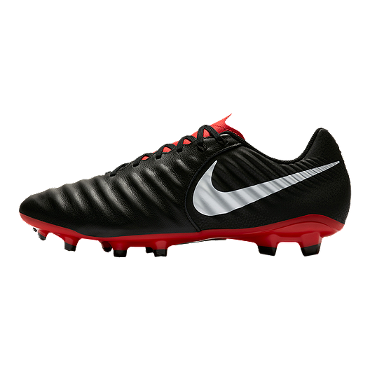 9199c3769162 Nike Men's Tiempo Legend VII Academy Soccer Cleats - Black/Red/White ...