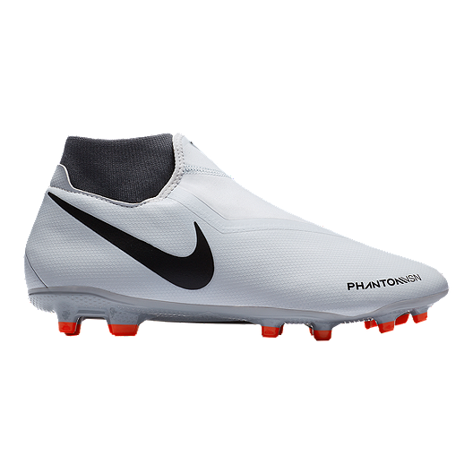 fd12ff08 Nike Men's FTR10 Obra 3 Academy FG Soccer Cleats - Platinum/Crimson/Grey |  Sport Chek