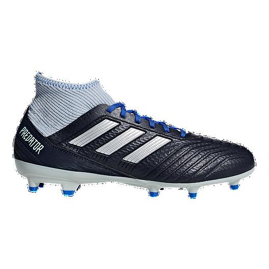 872e595ff3c4 adidas Women's Predator 18.3 FG Outdoor Soccer Shoes - Navy/Crimson/Blue |  Sport Chek