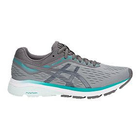 74eb1788011 ASICS Women s GT-1000 7 Running Shoes - Stone Grey Carbon