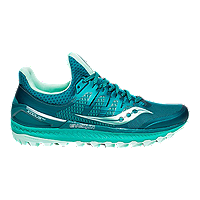 Saucony Women's Everun Xodus ISO Running Shoes - Green/Blue