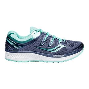37800c844d Saucony Women's EVERUN Hurricane ISO 4 Running Shoes - Grey/Aqua