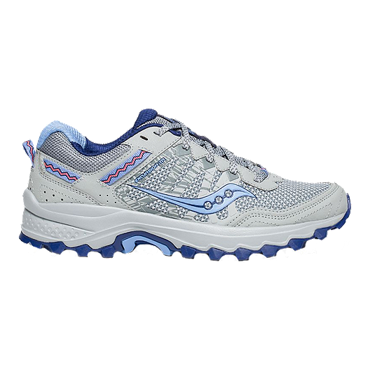 4fe6a620ec Saucony Women's Excursion TR12 Running Shoes - Grey/Blue