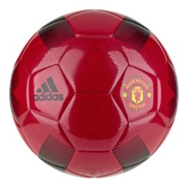 adidas Manchester United FC Soccer Ball - Real Red/Black