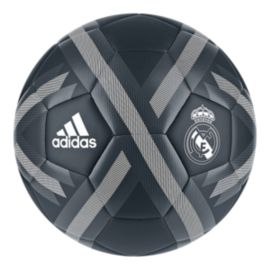adidas Real Madrid Soccer Ball - Tech Onix/White