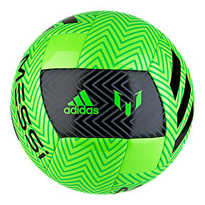 adidas Messi Q3 Size 5 Soccer Ball - Solar Green/Black