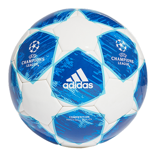 e5663d974 adidas Finale 18 Competition Soccer Ball - White/Football Blue | Sport Chek