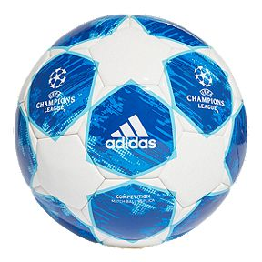ddfefaab0 adidas Finale 18 Competition Soccer Ball - White Football Blue
