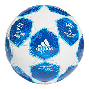 adidas Finale 18 Competition Soccer Ball - White/Football Blue