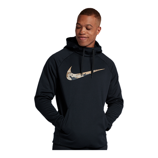 3019b44709ae Nike Men s Therma Camo Pullover Hoodie