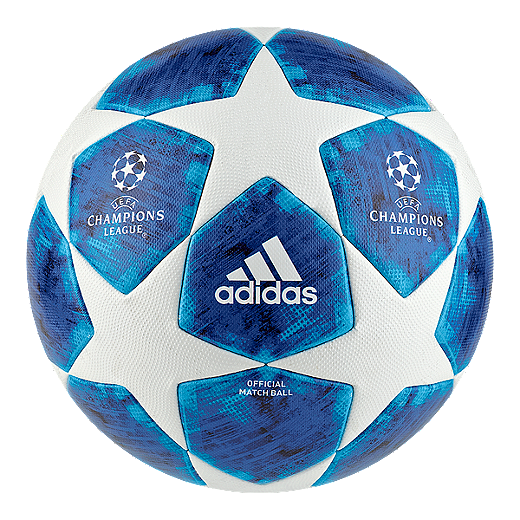 save off 2b531 f1832 adidas Finale 18 Official Match Soccer Ball - White Football Blue - WHITE