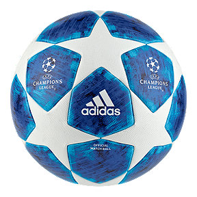 adidas Finale 18 Official Match Soccer Ball - White/Football Blue