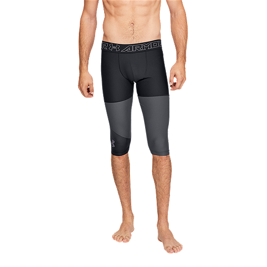 b4e95ad3be Under Armour Men's Threadborne Vanish Compression 1/2 Tights | Sport Chek