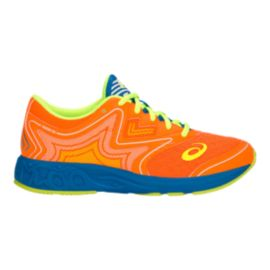 ASICS Kids' Noosa Shocking Grade School Shoes - Shocking Orange/Flash Yellow