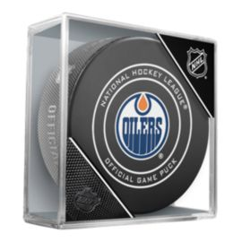Edmonton Oilers 2018 Official Game Puck