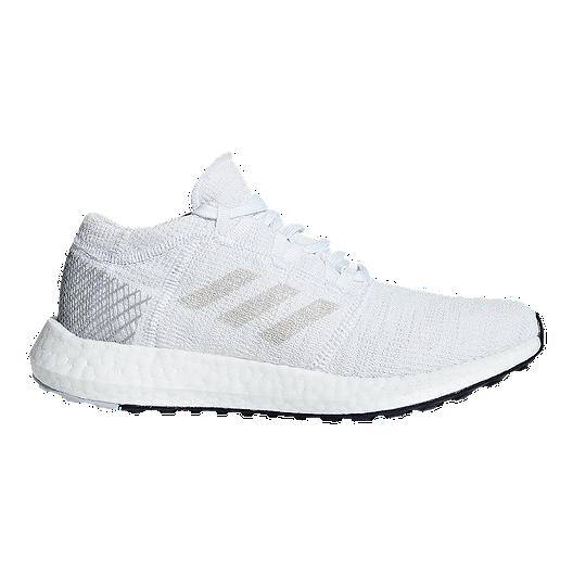 45e492ff1accb adidas Kids  Pure Boost Go Grade School Shoes - White Green