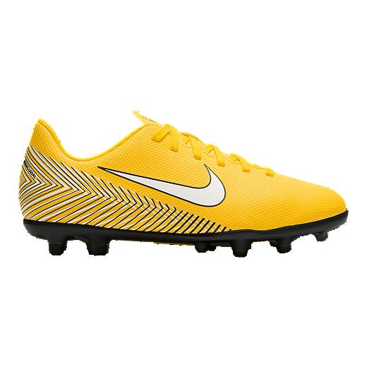e89269b4063 Nike Kids  Neymar Jr. Mercurial Vapor 12 Grade School Club Cleats - Yellow