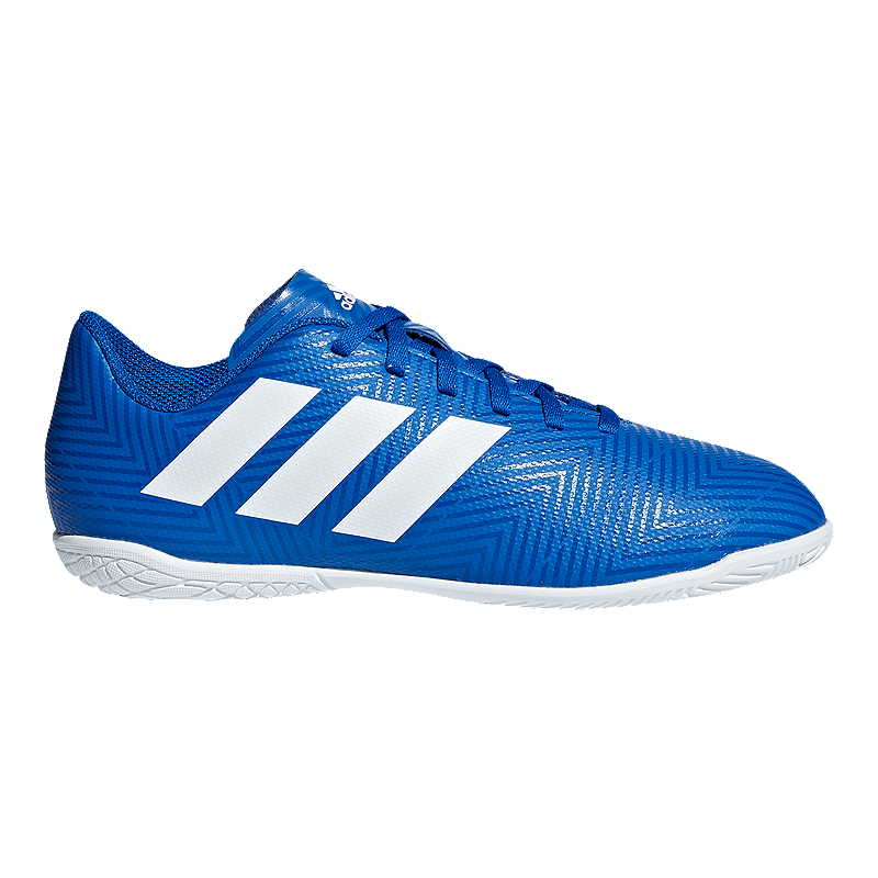 the best attitude 77b9b b6d83 adidas Boys  Nemeziz Tango 18.4 Indoor Grade School Soccer Shoes - Football  Blue White   Sport Chek