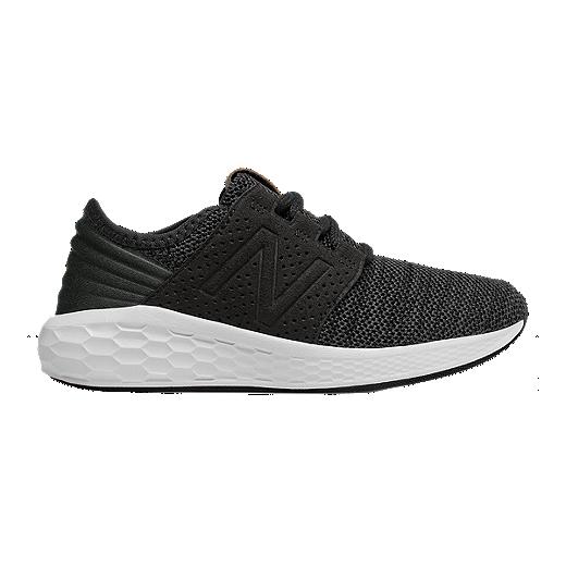 9c5e51ddc711a New Balance Kids' KJCRZV2G Grade School Shoes - Black/Magnet - BLACK MAGNET
