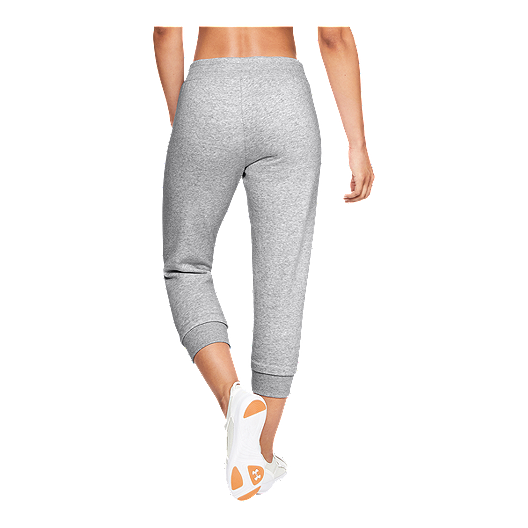 0e66628670 Under Armour Women's Rival Fleece Crop Pants