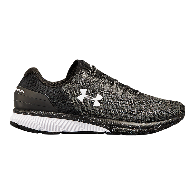 pretty nice d7024 54b5e Under Armour Men's Charged Escape 2 Running Shoes - Black/White