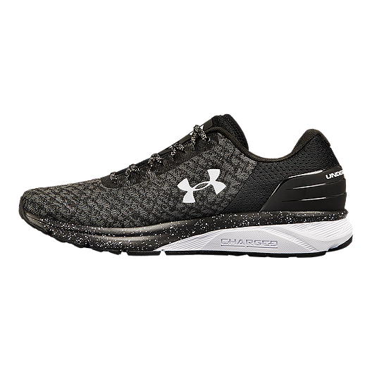 177b74152 Under Armour Men s Charged Escape 2 Running Shoes - Black White ...