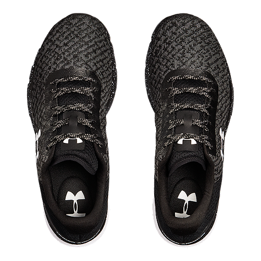 pretty nice bc752 cd1dc Under Armour Men's Charged Escape 2 Running Shoes - Black/White