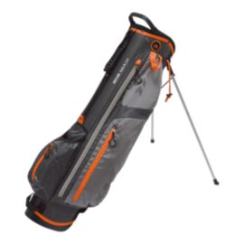 Big Max Ice 7 Stand Bag - Charcoal/Orange
