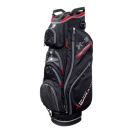 Big Max Terra X3 Cart Bag - Black/Red