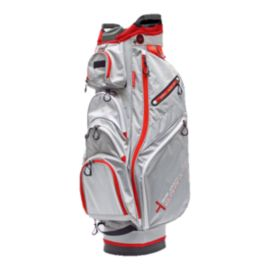 Big Max Terra X3 Cart Bag - Silver/Red