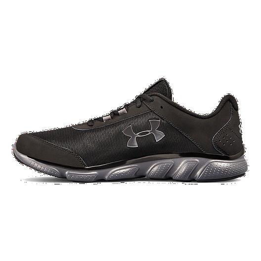 4b4ce8df60 Under Armour Men's Micro G Assert 7 4E Training Shoes - Black/Grey