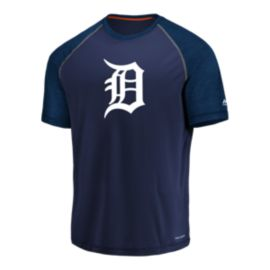 Detroit Tigers Majestic Got The Word Raglan Shirt
