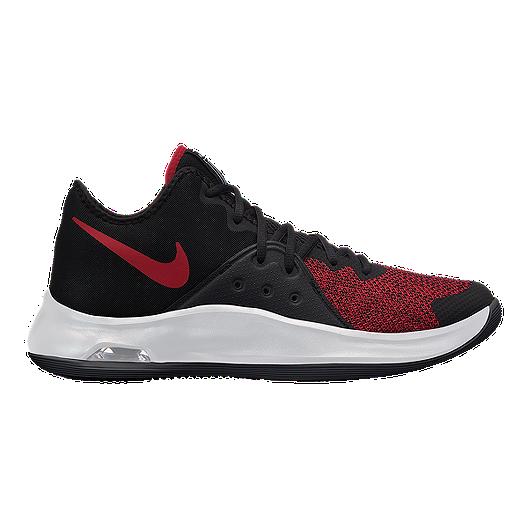 349eaf1b66af Nike Men s Air Versatile III Basketball Shoes - Black Red White ...