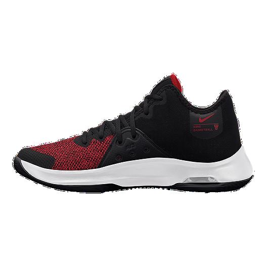 e25b30e2460f Nike Men s Air Versatile III Basketball Shoes - Black Red White ...