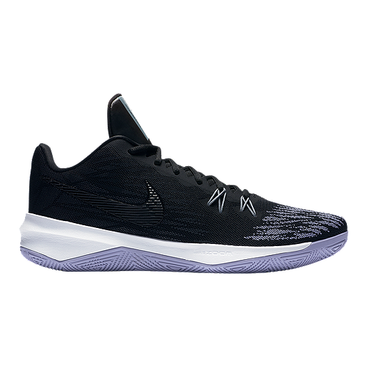 wholesale dealer 2bfcb bc820 Nike Men s Zoom Evidence II Basketball Shoes - Black White   Sport Chek
