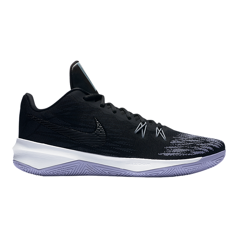Nike Men's Zoom Evidence II Basketball Shoes BlackWhite