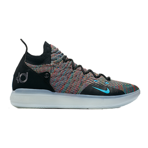 competitive price 1344a 3de26 Nike Men s Zoom KD 11 Basketball Shoes - Black Blue Purple - BLACK