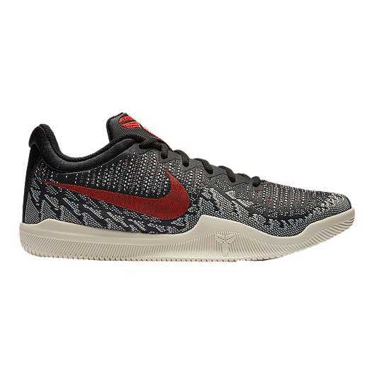 new styles ef6a0 9106a Nike Men s KB Mamba Rage Basketball Shoes - Black Red Sail   Sport Chek