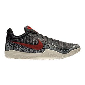 factory price d0857 0e422 Nike Men s KB Mamba Rage Basketball Shoes - Black Red Sail