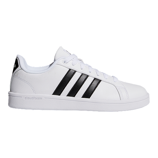 f7e738953c2f adidas Women s CF Advantage Shoes - White Core Black